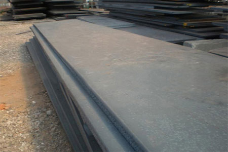 ASME SA588 Grade B steel plate weather resistant structural